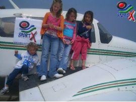 טיסה משפחתית