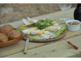 טיול סוסים רומנטי בלילה+גבינות ויין