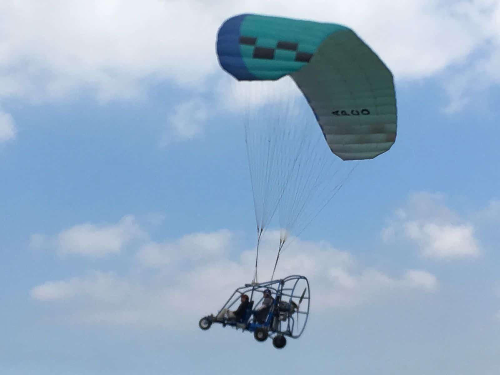 טייס ליום אחד 30 דקות עם טרקטורון מעופף