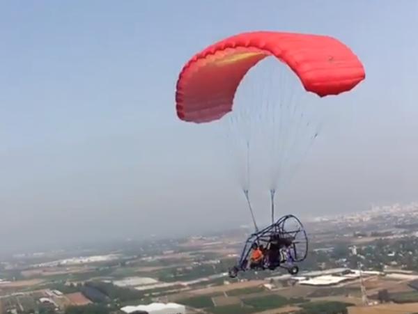 טרקטורון מעופף +שיעור טיסה