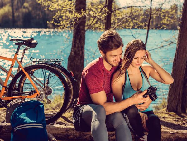 טיול אופניים לזוג